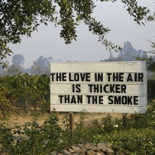 Destructive wildfires threaten to taint iconic California wines with smoke