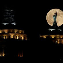 Photos: Images from around the world capture the size and beauty of Sunday's supermoon
