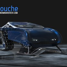 Snowmobile concept designed for 'short but exhilerating ride'
