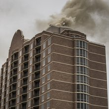 Hotel blaze reveals crew shortage in downtown high-rise fires