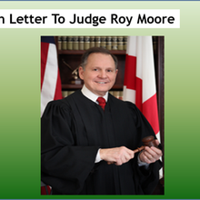An Open Letter To Judge Roy Moore