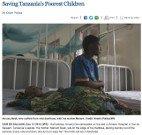 Saving Tanzania's Poorest Children - Kristin Palitza - Freelance writer - correspondent - Kristin...