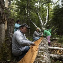 Wildcat River family keeps Mi'kmaq tradition afloat