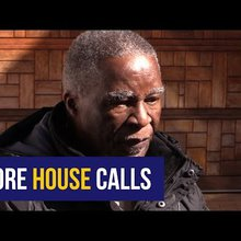 WATCH: Mbeki dons ANC shirt, insists his vote is secret