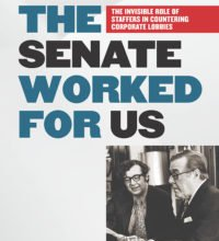 Michael Pertschuk on When The Senate Worked for Us - The Invisible Role of Staffers in Countering...