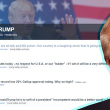 Meet the community tracking every time Trump contradicts himself on Twitter