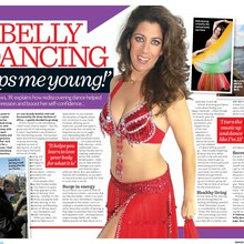 'Belly dancing keeps me young'