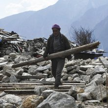 VIDEO: One Year on, Nepal's Quake-hit Langtang Village Little More Than a Graveyard