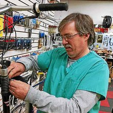 Hazel Park 'Bicycle Doctor' makes house calls