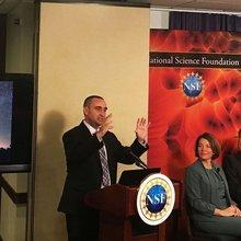Arizona astronomer among first to see kilonova, a cosmic 'train wreck'