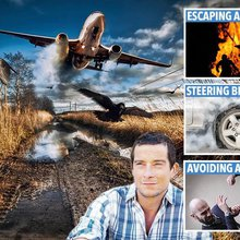 Survival expert Bear Grylls' guide reveals how to handle almost any dangerous scenario