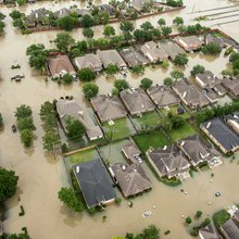 The trouble with living in a swamp: Houston floods explained