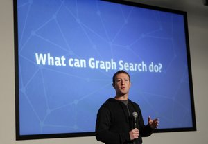 Facebook's search has been found