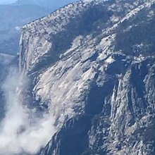 """One dead in """"enormous"""" rockfall at Yosemite's El Capitan"""
