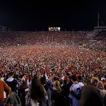 SEC fines Auburn $250K for rushing the field following the Iron Bowl