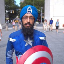 Meet Sikh Captain America