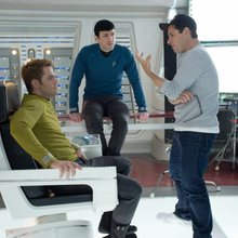 J.J. Abrams interview/Star Trek Then and Now