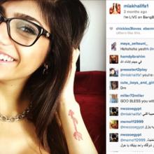 Songs and death threats for Lebanese American porn star Mia Khalifa - CNN.com