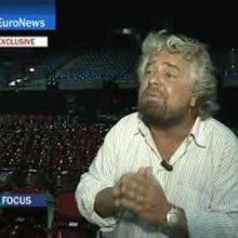 EuroNews - Entrevista - SP - Beppe Grillo