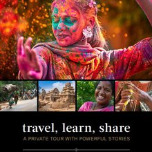 India Tour brochure for Danielle Chiel