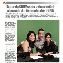 Armando Talamantes... de Siglo 21 a CNN
