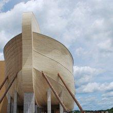 "Aboard a ""Life-Size"" Replica of Noah's Ark in Rural Kentucky"