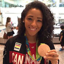 Olympians Desiree Scott, Justin Duff Return Home to Winnipeg | ChrisD.ca
