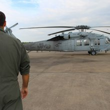 Navy rescue helos scramble to keep pace with Harvey
