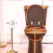 Buy This Functional Louis Vuitton Toilet for $100,000 - DuJour