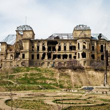One Building Bears Battle Scars From Every Afghan War. Should It Be Preserved?