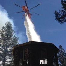 California wildfire evacuates 160; Nevada gets smoked