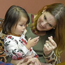 'Amazingly genius': Born without hearing, 3-year-old Vidalia girl reacts to gift of first sound