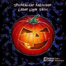 Spooktacular Halloween Laser Light Show
