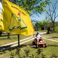 The Other Masters This Weekend Is at Merv's House