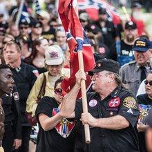 Ku Klux Klan and New Black Panther Party Protest at South Carolina Capitol