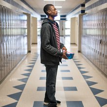 One Student Tries To Help Others Escape A 'Corridor Of Shame'
