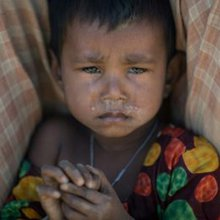 Hospitals fill as Rohingya refugees shiver through winter