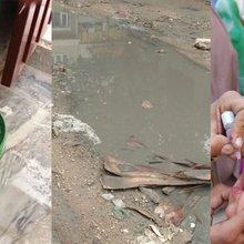 Sewerage water shatters Pakistan's dream of eradicating Polio | News Lens Pakistan