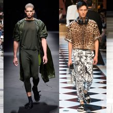 How to style your smartwatch with the Mens Spring/Summer 17 trends