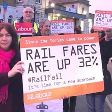 Ely commuters protest over 'eye-watering' £5,000 season ticket to London after New Year price hi...