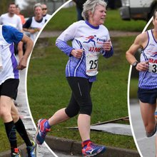 Fenland Running Club get back into business - racing in the Ely Runners New Year winter 10k