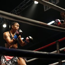 Female boxer paves the way for young women