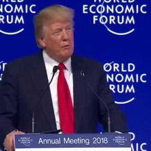 Trump Goes to Davos, Continues to Erode America's Global Standing