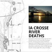 La Crosse's river deaths: an interactive timeline
