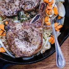 Weeknight skillet suppers are easy with these tips and recipe from Virginia Willis