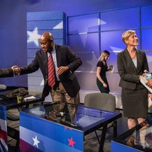 Democratic Senate candidates keep gloves on in first, only debate