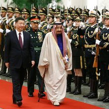 China's step into the maelstrom of the Middle East