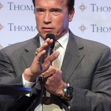 Swiss Watch Buff Arnold Schwarzenegger Unveils His Own Brand