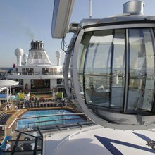"TRAVEL/Royal Caribbean launches ""most high-tech cruise ship"" on the high seas"