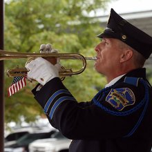 Taps is solemn reminder of loss in the line of duty at 9/11 ceremony in Bergen County